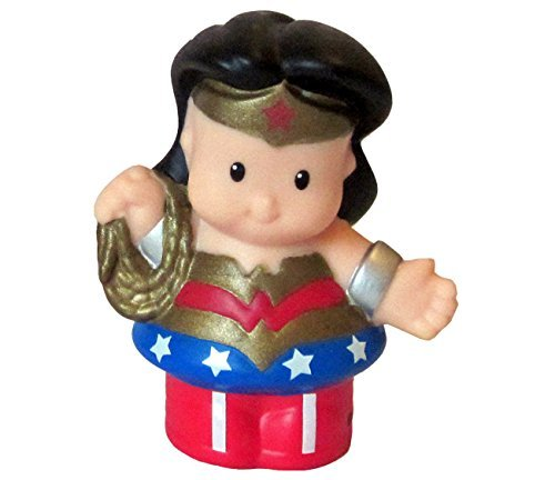 Fisher Price Little People Dc Super Friends Wonder Woman 2.5 Loose Figure Doll Toy Great for Replacement mattel