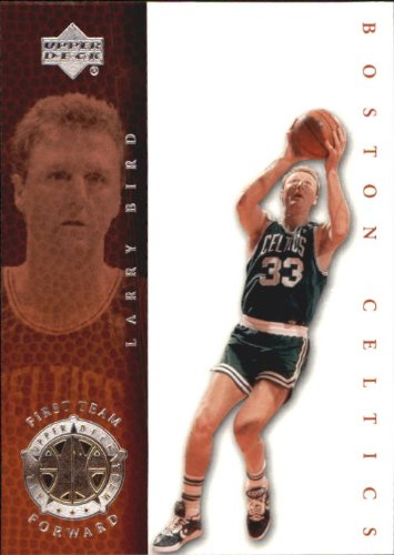 2000 Upper Deck Century Legends Basketball Card #75 Larry Bird