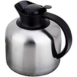 304 Stainless Steel Coffee pot Double Vacuum Anti-Skid Base for hot and Cold to Keep for Home 63.3 Ounces