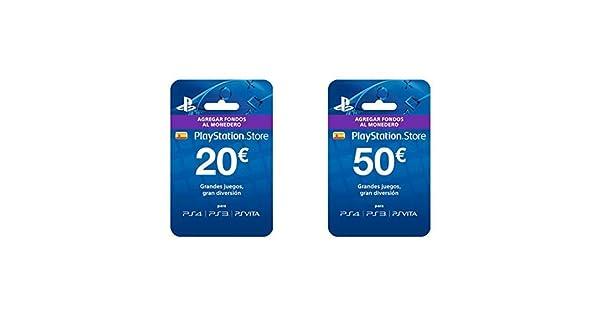 Sony- Tarjeta Prepago 20€ (Código Digital) & Tarjeta Prepago ...