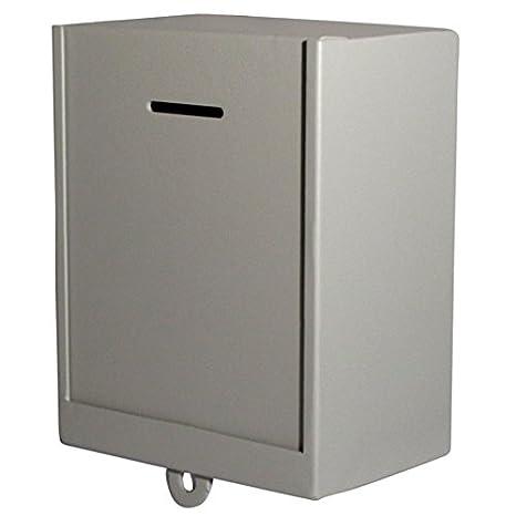 Mi caridad cajas Metal clásico - donación - comentario - caja de colección caja segura - miscelánea, caja tiqueadora - fácil montaje en la pared,: ...