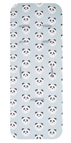 Colchoneta silla de paseo viscoelastica universal panda menta