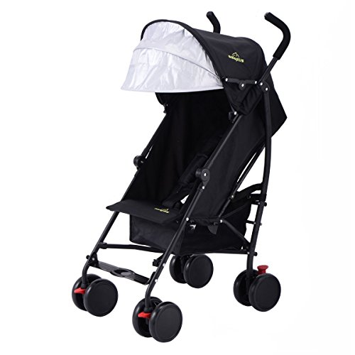 Best Lightweight Travel Baby Stroller For Frequent Airplane Travel, Easy Carry & Fold (16 Pounds), for Infants, Toddlers…