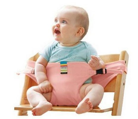 Linker Wish Portable High Chair Baby Dinning Lunch Chair/Seat Safety Belt/Portable Infant Seat/Dinning Chair2
