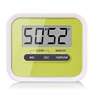 KEWAYO Digital kitchen Timer, Countup & Countdown Timer Maximum to 99 Minutes 59 Seconds
