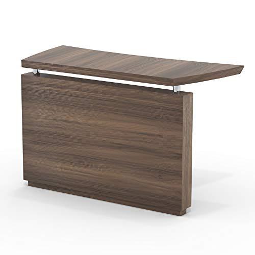 Mayline STEBTBS Sterling Desk, Textured Brown Sugar Laminate