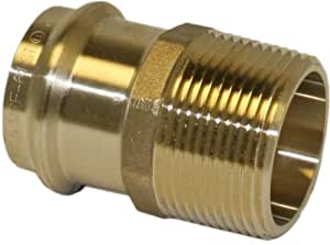 Apollo Valves 10075256 2-Inch Male Copper Adapter