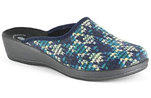 Blu Pantofole 75 Invernali Inblu Da Ciabatte Cl Art Donna 7qRg8nf