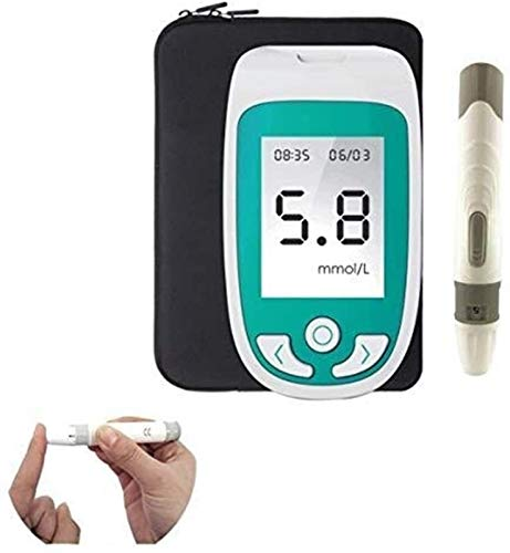 WCCCY 3 in 1 Cholesterol Tester, 3in1Uric Acid Monitor Blood Sugar Monitor Cholesterol MonitorHome Test Monitor (Color : Host+50 Blood Glucose Test Strip)