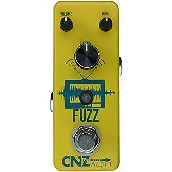 CNZ Audio Fuzz Guitar Effects Pedal, True Bypass