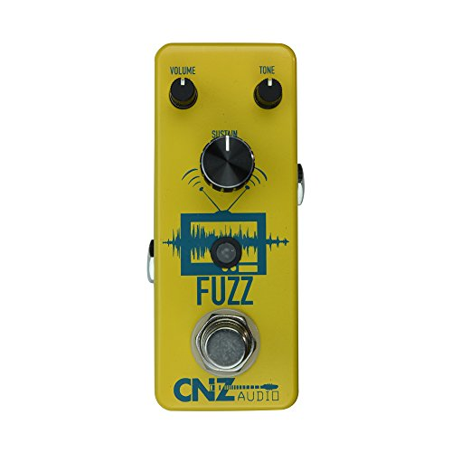 Fuzz Guitar Pedal (CNZ Audio Fuzz Guitar Effects Pedal, True Bypass)