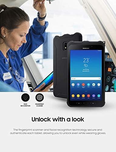 "Samsung Unlocked Galaxy Tab Active2 Water-Resistant 8"" Rugged Tablet |16GB & LTE | Biometric Security (SM-T397UZKAXAA), Black 41wjdYAg 2B 2BL"