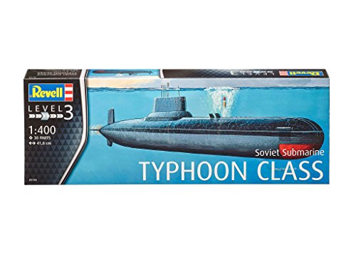 Revell 1:400 - Sovietsubmarine Typhoon Class