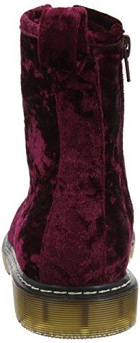 Velvet Dolcis Mujer Rojo para Botas Burgundy Delilah O6Oq4wY