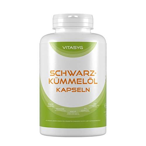 Vitasyg Schwarzkümmelöl 500mg Kapseln - 400 Stück