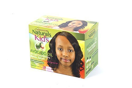 Avocado No-Lye Afro Hair Relaxer for Kids (1 strength for fine to coarse hair) by Ayaan Naturals Soulful Beauty Ltd