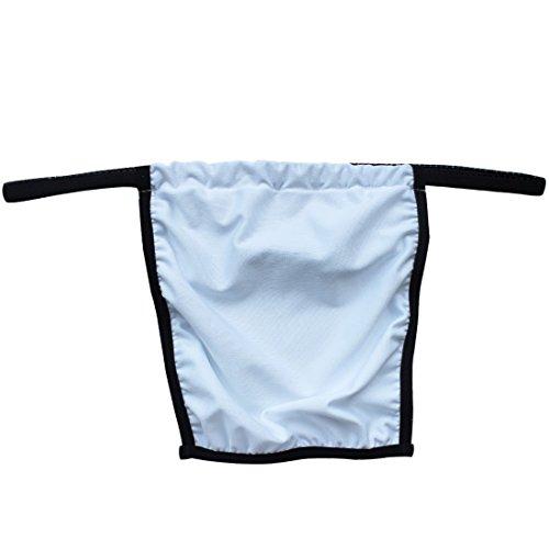 YiZYiF Men's Novelty Pouch Scottish Kilt Underwear Mans Draped Briefs G-string (Sexy Gay Halloween Costumes)