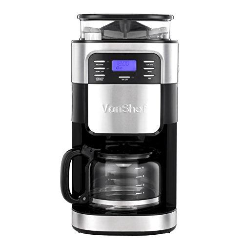 Coffee Maker Built In Grinder - 5