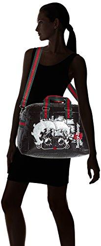 Betty Boop Koffer Nylon Glaze Reisetasche Basic 10 Liter Schwarz 85051-BB