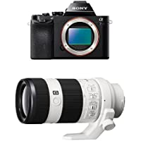 Sony a7R Full-Frame Interchangeable Digital Lens Camera - Body Only w/ 70-200mm