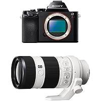 Sony a7R Full-Frame Interchangeable Digital Lens Camera - Body Only w/ 70-200mm