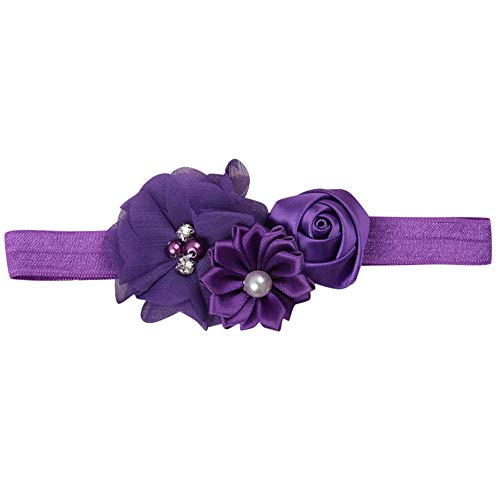Infant Toddler Baby Flower Headband Newborn Hair Band Kids Hair Accessories lot from ABASSKY