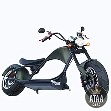 ATAA Chopper eléctrica matriculable Pirate 2000w - Scooter ...