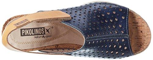 Pikolinos Women's Bali W3l_v17 Wedge Heels Sandals Blue 2xR5DU