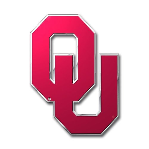 Team ProMark NCAA Oklahoma Sooners Die Cut Color Auto Emblem ()