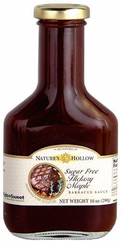 Nature's Hollow Hickory Maple Sugar Free BBQ Sauce Sweetened