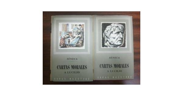 CARTAS MORALES A LUCILIO. 2 TOMOS: Amazon.es: Lucio Anneo ...