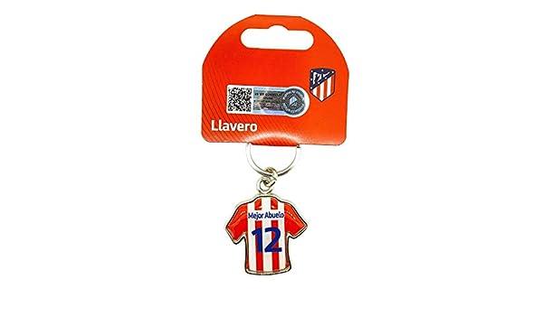 Llavero Atlético de Madrid Produto Oficial Mejor abuelo ...