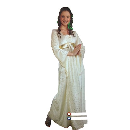 Rubie's Angel Costume for Adults/Teens in Beautiful Velvet with Gold Accents