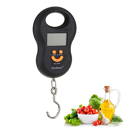 40kg/10g 88Lb Portable LCD Electronic Travel Luggage Scale - 5
