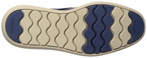 Sebago Mens Smyth Cap Toe Oxford Marinen Läder
