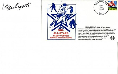 - John Ziegler Jr. Autographed Roster with 1995-1996 NHL All Star Game Envelope - NHL Cut Signatures