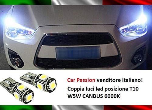 KaTur 2 lampadine LED W5W T10 3014 SMD Canbus per auto per auto per interni ed esterni