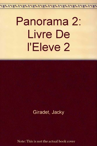 Panorama 2: Livre De l'Eleve 2 (French Edition)
