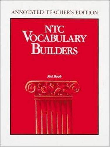 NTC Vocabulary Builders Level 1: Red Book- Annotated Teacher's Edition
