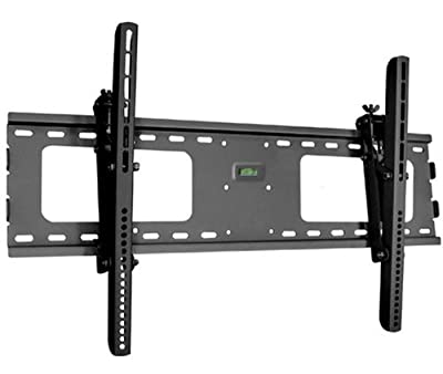"Black Adjustable Tilt/Tilting Wall Mount Bracket for LG 60LF6090 60"" inch LED HDTV TV/Television"