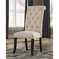 Triptown Linen Dining Side Chairs, Set of 2
