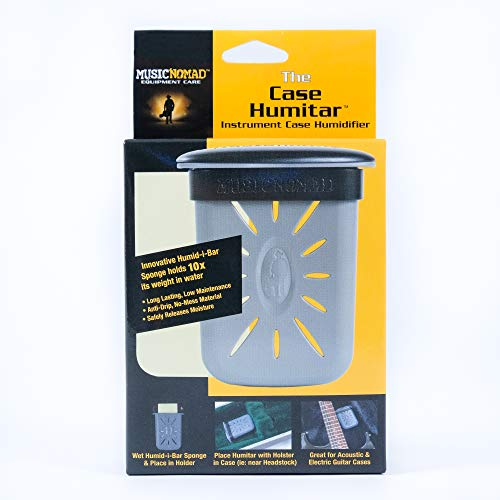 Music Nomad MN303 Case Humitar Instrument Case Humidifier with Holster