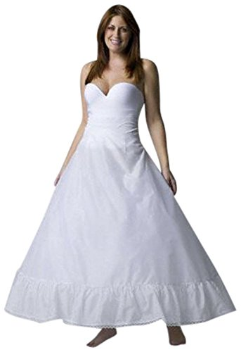 Plus Size Full Bridal Gown Slip Style 9795w