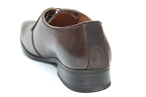 M0893Db - Chaussures de ville/mariage à lacets - homme - deux tons