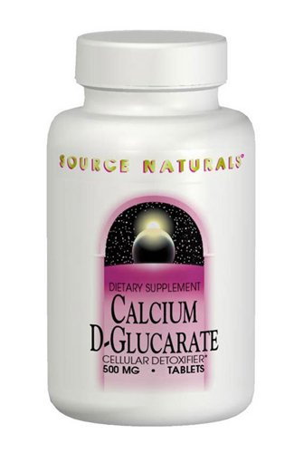 Source Naturals Calcium D-Glucarate 500mg - 60 Tablets