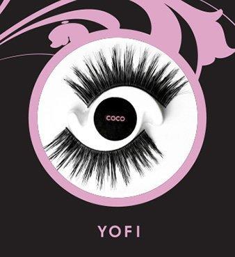 YOFI Cosmetics False Eyelashes   Coco
