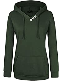 c2d8d47b270 Women Plus Size Lightweight Full Zip Up Hooded Sweatshirt Hoodie Jacket