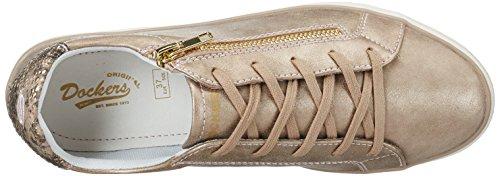760 rosa 40 Sneakers Eu 680760 By Basses Dockers Gerli Femme Rose 40aa202 0PpR6vq