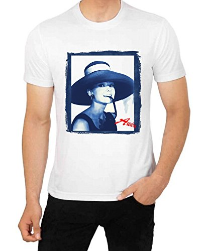 Gatsbe Exchange Audrey Hepburn Breakfast At Tiffany's Big Black Hat T Shirt