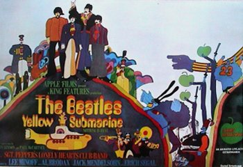 HSE The Beatles Yellow Submarine Poster 2